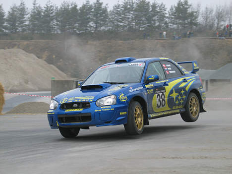 Motorsporten.dk   rally   christian jensen vandt 'lokalderby' i ans